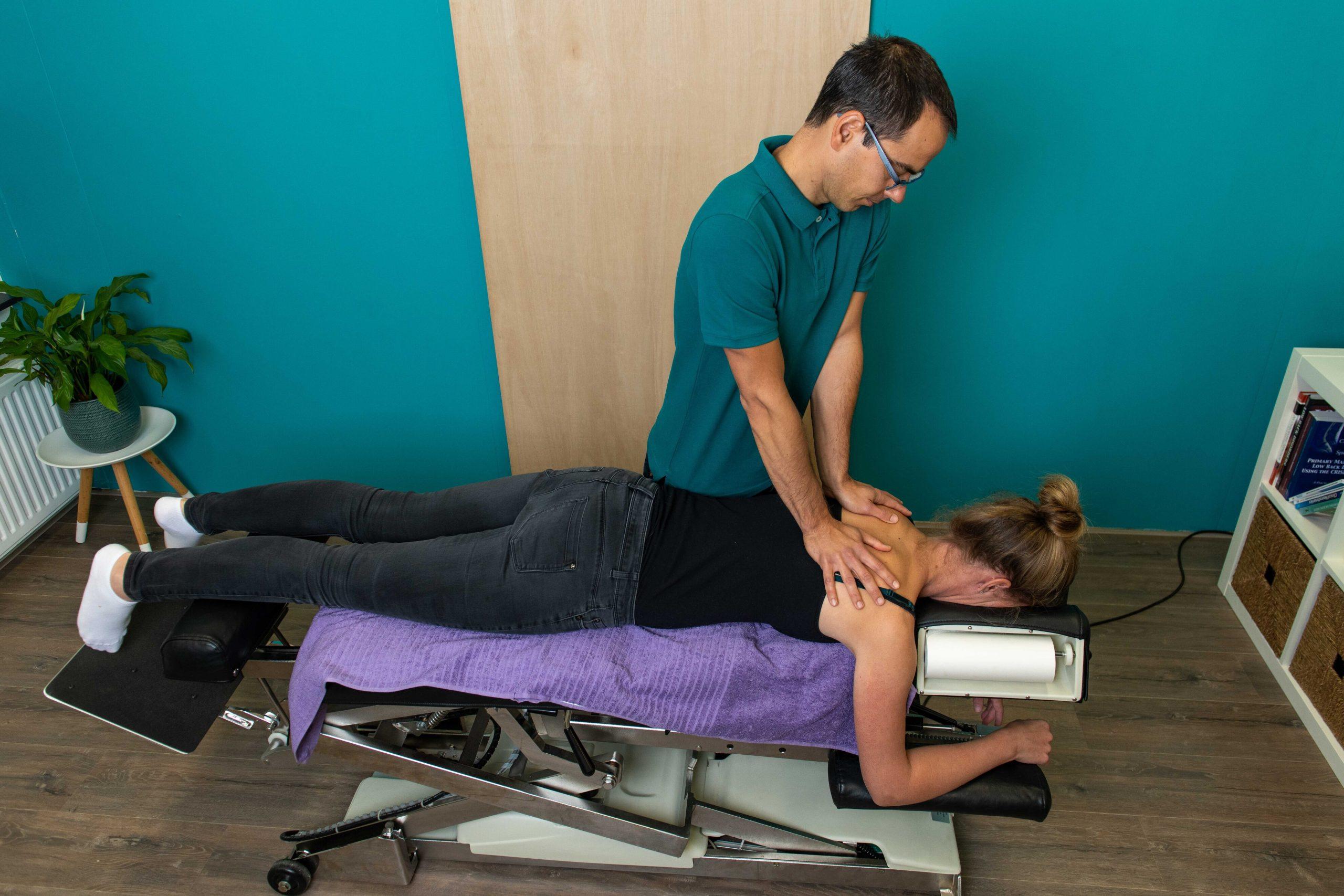 chiropractor verhelpt rugpijn